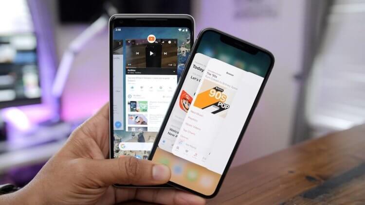 Правда ли, что iOS нужно меньше оперативки, чем Android