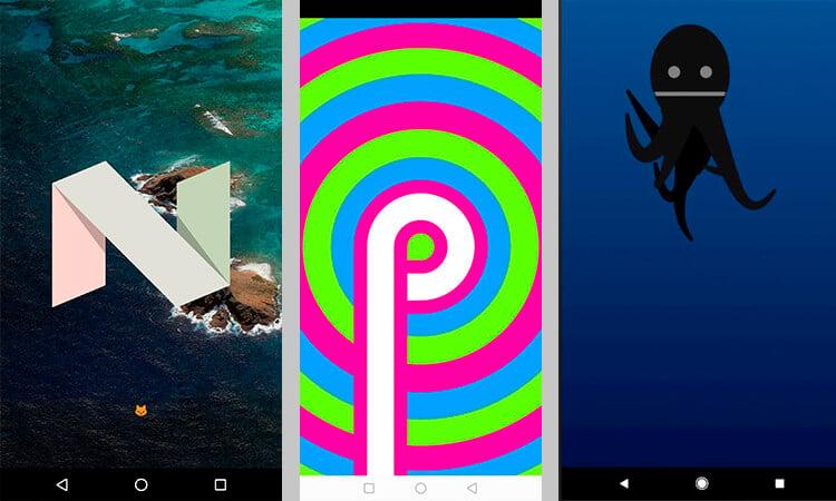 Пасхалки Android