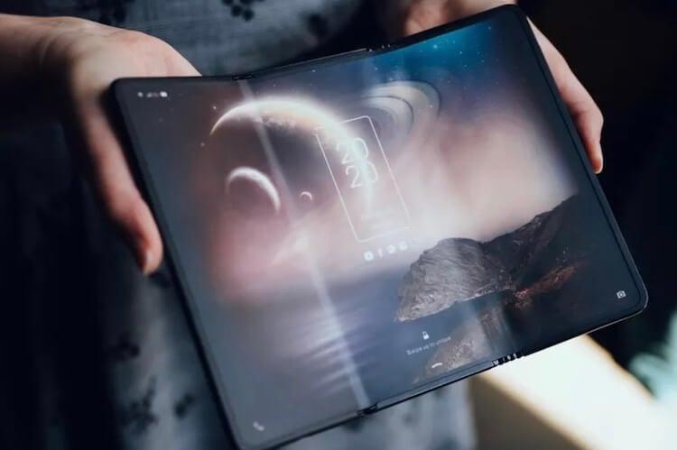 Складной планшет Samsung может выйти  меньше чем через год