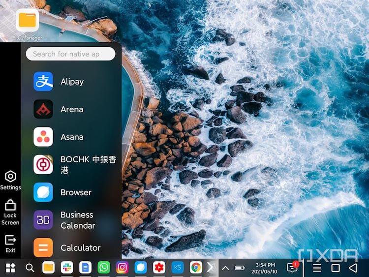 Как работает режим ПК на телефоне Xiaomi Mi Mix Fold