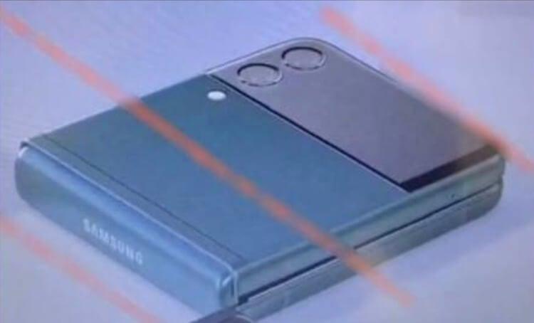 Утечка показала, как будет выглядеть Samsung Galaxy Z Flip 3