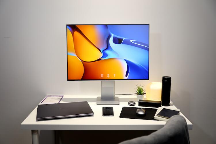 Huawei показала внешний вид Huawei P50, крутые мониторы и телевизор