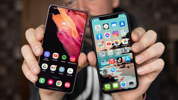 Android лучше iOS