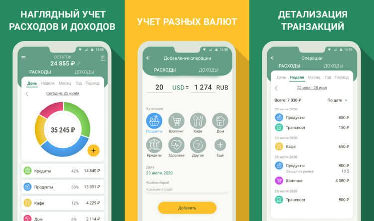 Лучшие приложения для учета финансов в 2021 году