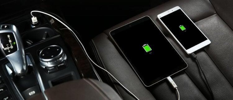 Безопасно ли заряжать телефон в машине?