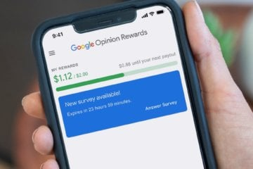 Опросы Google