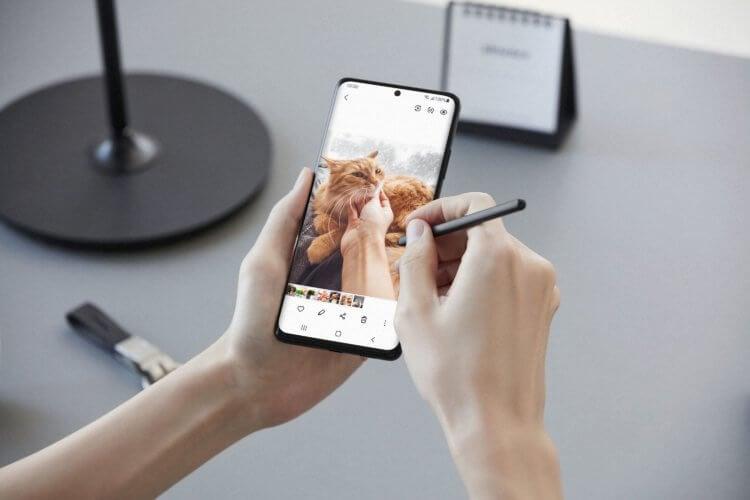 Зачем смартфонам стилус
