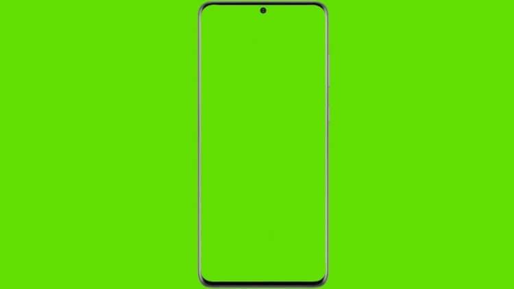 Экран телефона Самсунг стал зелёным. В чём дело