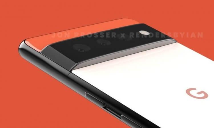 Google Pixel 6 станет лучшим телефоном от Samsung