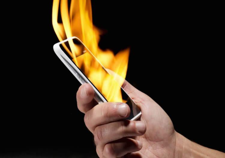 Почему взрываются смартфоны