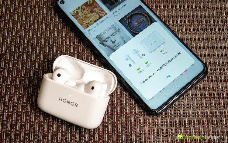 Недорогие TWS-наушники Honor Earbuds 2 Lite. Стоит ли их покупать?