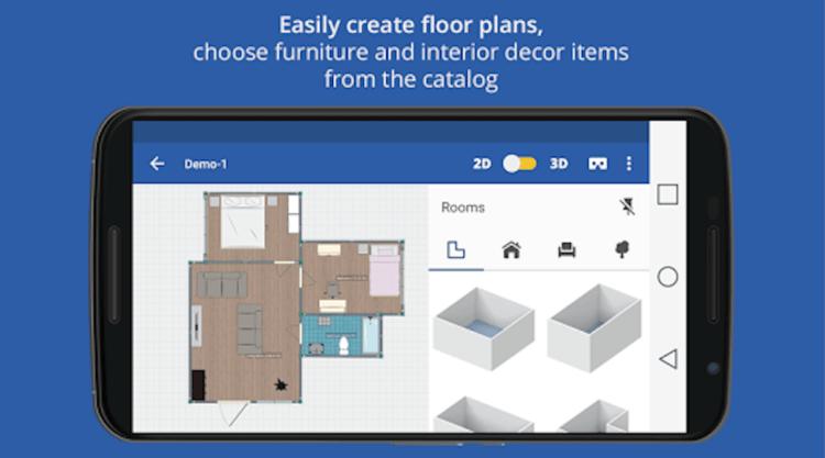 Лучшие приложения для дизайна интерьера на Android