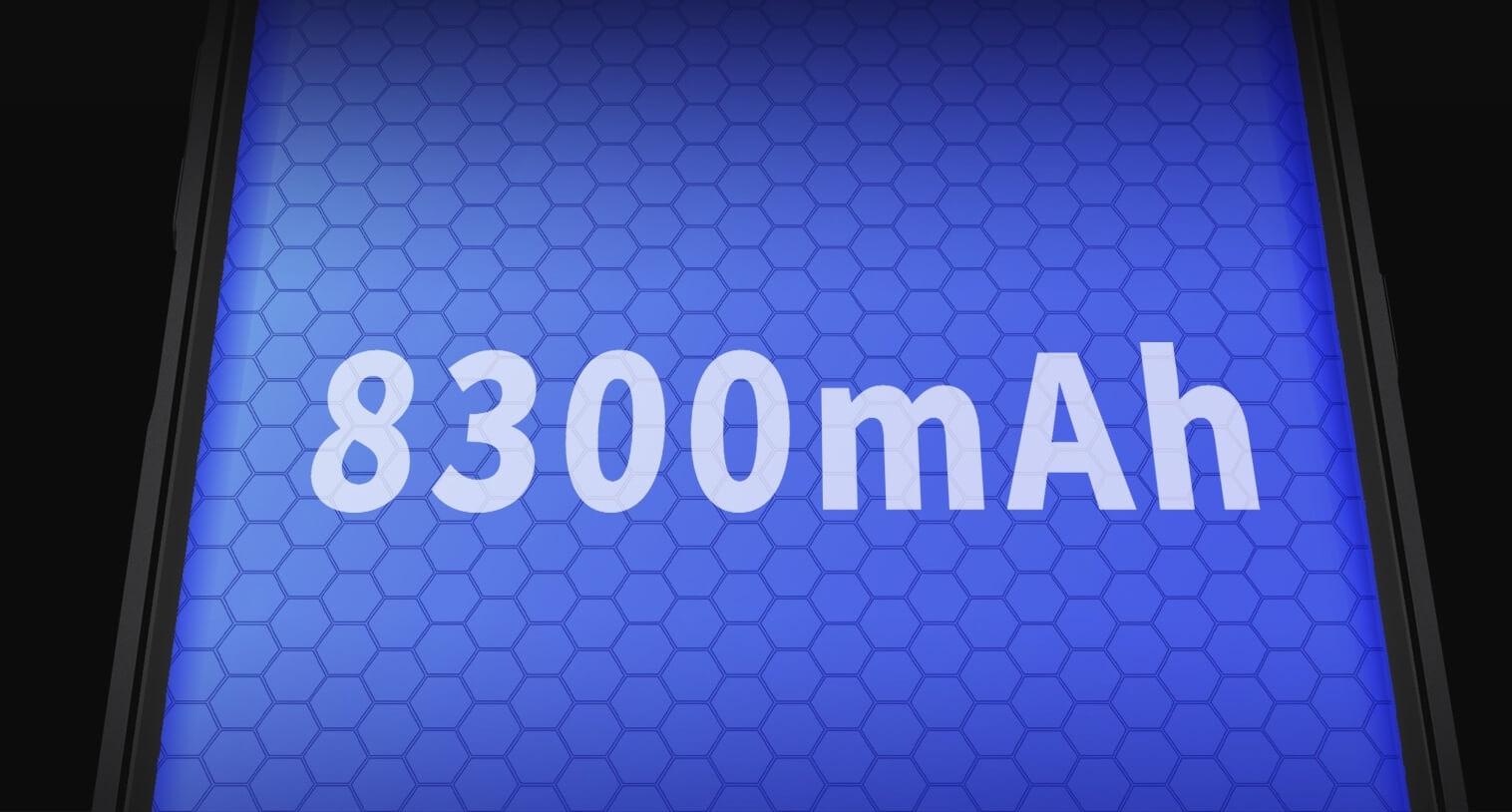 8300 мА*ч