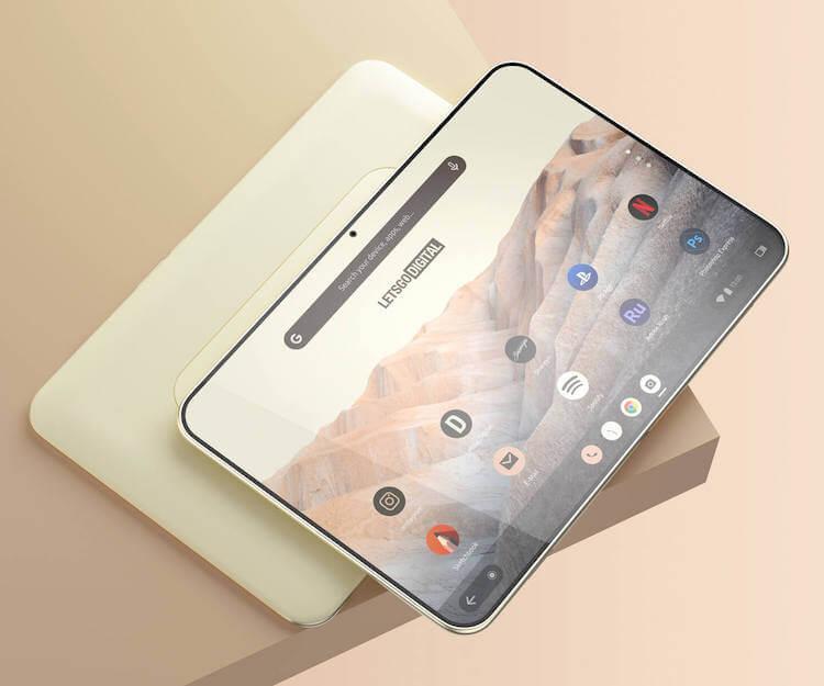 Google запатентовала планшет в линейке Pixel