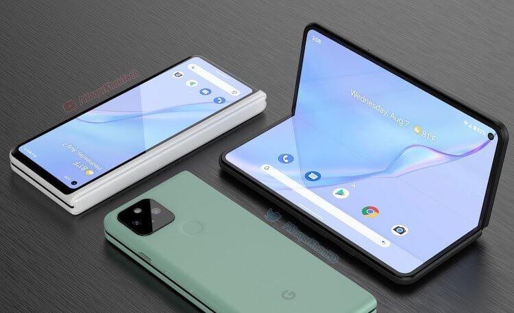 Google готовит свой первый складной смартфон. Каким он будет