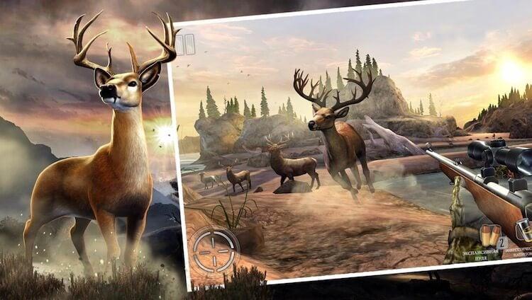 Лучшие игры для Android про охоту