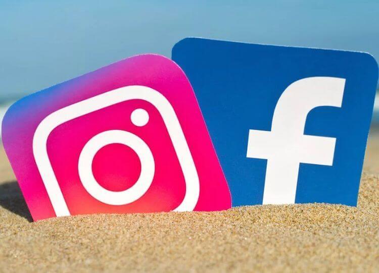 Инстаграм и фэйсбук