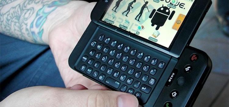 Каким был самый первый телефон на Android