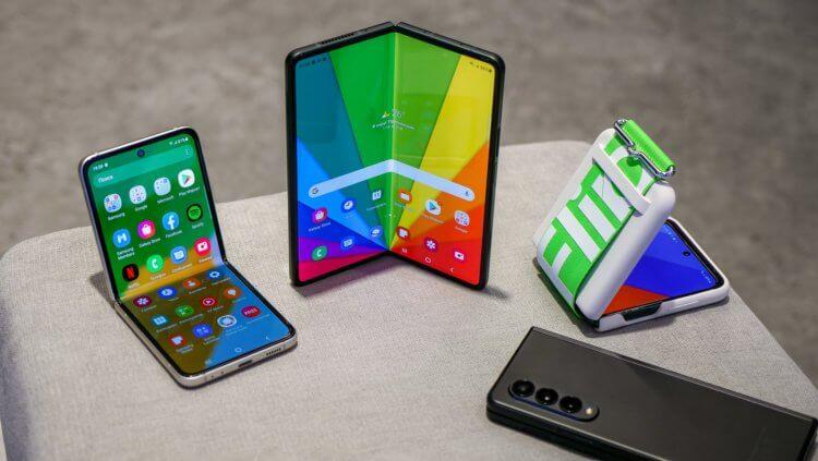 Пользователи рассказали, чего им не хватает в складных смартфонах